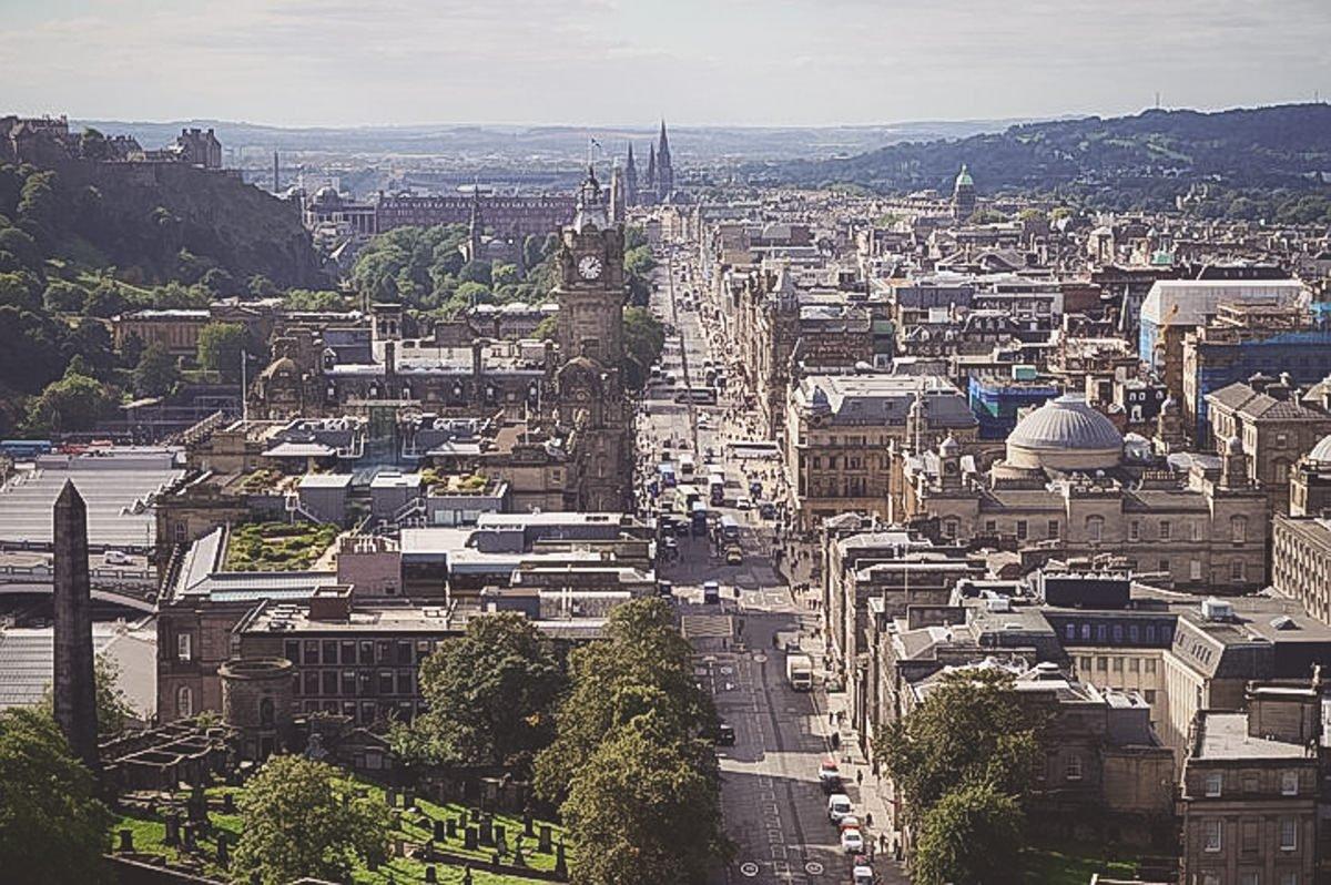 Versteckt in den Highlands - Edinburgh