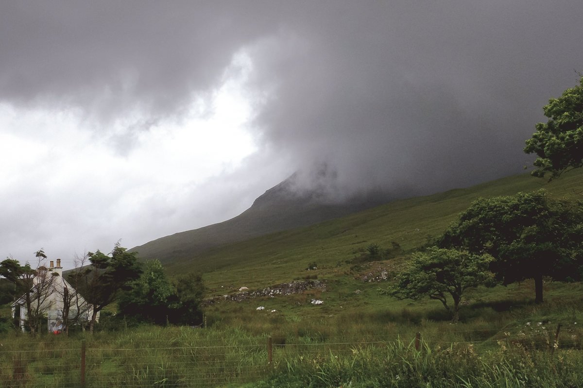 Versteckt in den Highlands - Nebel in den Highlands