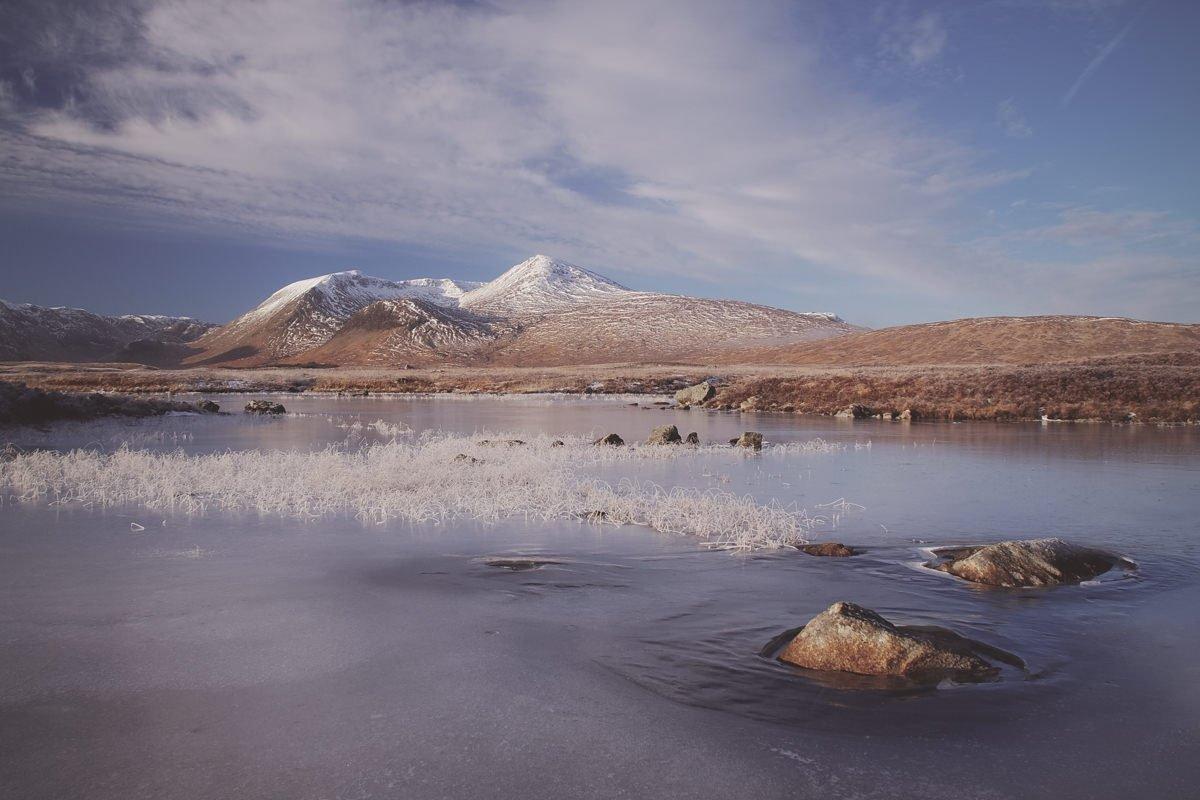Versteckt in den Highlands - Schottland im Winter (von Birgit Fischer)