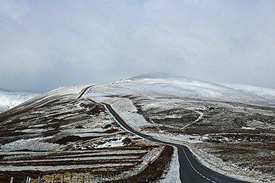 Versteckt in den Highlands - Schnee in den Highlands